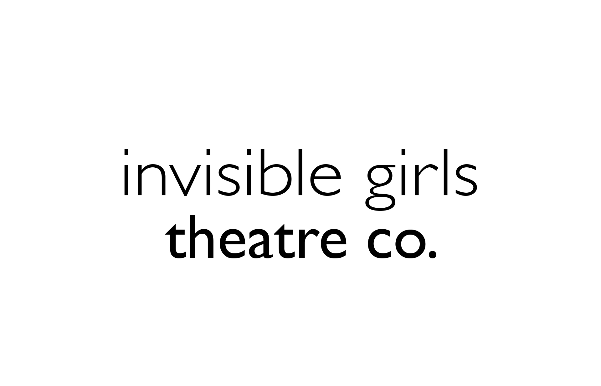 invisible girls theatre co.